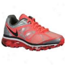 Nike Air Max + 2012 - Womens - White/hot Punch/pure Platinum/anthracite