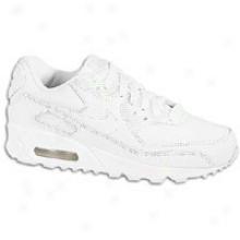 Nike Aor Max 90 - Little Kids - White/white