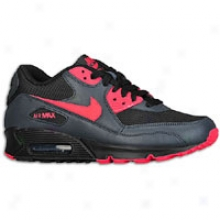 Nike Air Max 90 - Womens - Black/anthracite/siren Red
