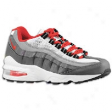 Nike Air Max 95 - Big Kids - Dark Grey/gym Red/white/cool Grey
