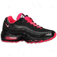 Nike Air Max 95 - Womens - Black/white/siren Red
