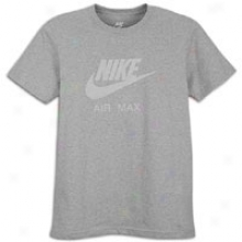 Nike Air Max Crew T-shirt - Mens - Dark Heather Grey