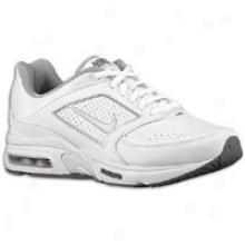 Nike Air Max Healthwalker+ 8 - Womens - White/metallic Silver/dark Grey