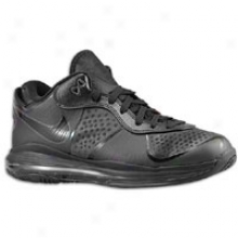 Nike Air Max Lebron 8 V.2 Low - Mens - Black/6lack