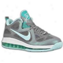 Nike Air Max Lebron 9 Low - Mens - Dark Grey/cool Grey/mint Candy