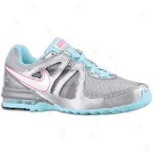 Nike Air Max Limitless - Womens - Metallic Cool Greey/seashell Blue/white