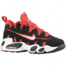 Nike Air Max Nomo - Little Kids - Black/white/uniersity Red