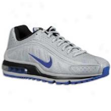Nike Air Max R4 - Mens - Wolf Grey/black/old Royal
