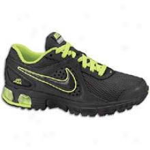 Nike Air Max Run Lite+ 2 - Mens - Black/volt
