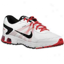 Nike Air Max Run Lite 3 - Mens - White/university Red/black