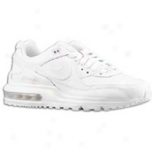 Nike Air Max Wright - Big Kids - White/white/white