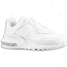Nike Air Max Wright - Little Kids - White/white/white