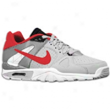 Nike Gas Trainer Classic - Mens - Wolf Grey/white/cool Grey/varsity Red