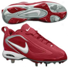 Nike Air Zoom 5-tool Low - Mens - Pro Red/white