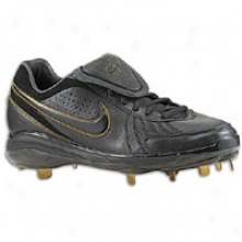 Nike Air Zoom Pro Tradition - Mens - Black/black/metallic Gold