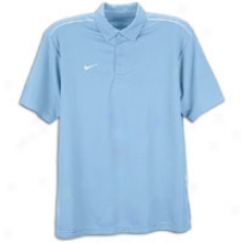 Nike All Day S/s Polo - Mens - Light Blue/white/white