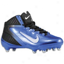 Nikke Alpha Speed D 3/4 - Mens - Black/white/varsity Royal
