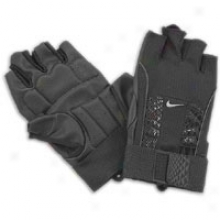 Nike Alpha Structure Lifting Gloves - Mens - Black/flint Grey