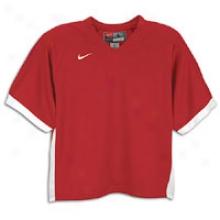 Nike Back Breaker Jersey Ii - Mens - Scarlet/white/white