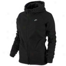 Nike Back-up Full Zip Hoodie - Womens - Black