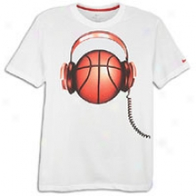 Nike Baller Beats T-shirt - Mens - Whitevarsity Red/varsity Red