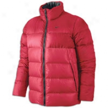 Nike Basic Down Jacket - Mens - Sport Red
