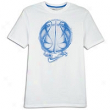 Nike Basketball Inferno T-shirt - Mens - White/photo Blue