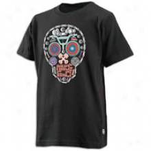 Nike Distended Skull S/s T-shirt - Biig Kids - Black