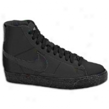 Nike Blazer Mid - Big Kids - Blackb/lack/medium Grey