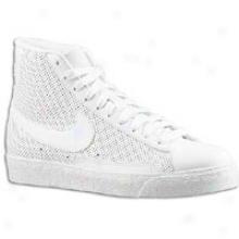 Nike Blazer Mid - Toddlers - White/white/white