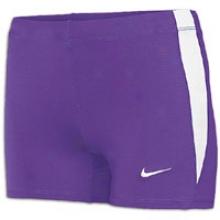 "Nike Boycut 3.5"" Short Ii - Womens - Purple/white/white"