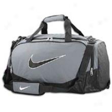 Nike Brasilia 5 Medim Duffle - Flint Grey