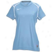 Nike Brasilia Ii Jersey - Womens - Blue-light Blue/white