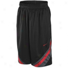 Nike Breakaway Short - Mens - Balck/anthrcite/varsity Red