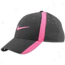 Nike Caution Leacy Dri-fit Wool Hat - Mens - Black/pink