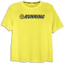 Nike Challenger Running T-shirt - Mens - Sonic Yellow/reflective Silver