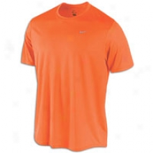 Nike Challenger T-shirt - Mens - Total Orange/reflective Silver