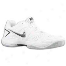 Nike City Court Vii - Mens - White/neutral Grey/metallic Silver/black
