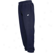 Nike Classic Cuffed Fleece Pant - Mens - Dark Obsidian