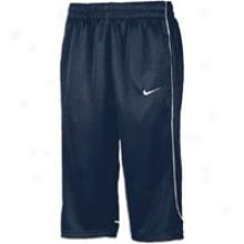 Nike Classic Knit Capri - Womens - Navy/white/white