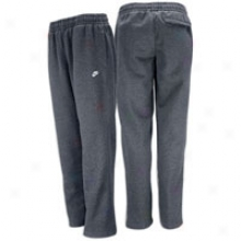 Nike Classic Open-leg Fleece Pant - Mnes - Charcoal Heather