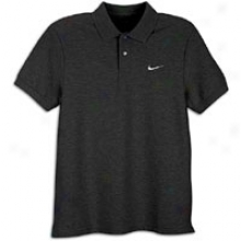 Nike Classic Pique S/s Polo - Mens - Black/white