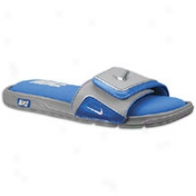 Nike Comfort Slide 2 - Mens - Grey/soar Blue/
