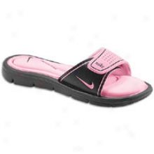 Nike Comfort Slide - Womens - Black/perfect Minnow