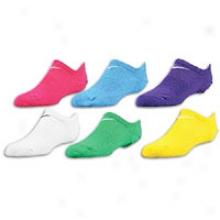Nike Cotton No Show Sock 6 Pack - Big Kids - Multi