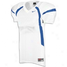 Nike Crack Move Game Jersey - Mens - White/royal/royal
