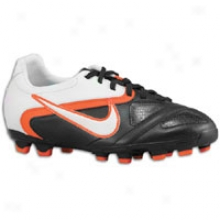 Nike Ctr360 Libretto Ii Fg - Big Kids - Black/white/total Orange