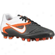 Nike Ctr360 Trequartista Ii Fg - Mens - Black/white/total Orange