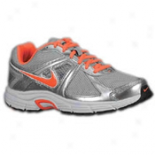 Nike Emit 9 - Womens - Metallic Silver/bright Mango