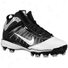 Nike Diamind Elite Mcs - Mens - Black/white/white